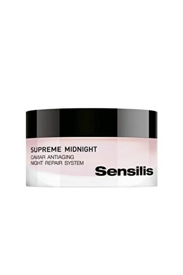 Sensilis SENSILIS Yaşlanma Karşıtı Gece Kremi - Supreme Caviar Antiaging Night Cream 50 ml Renksiz